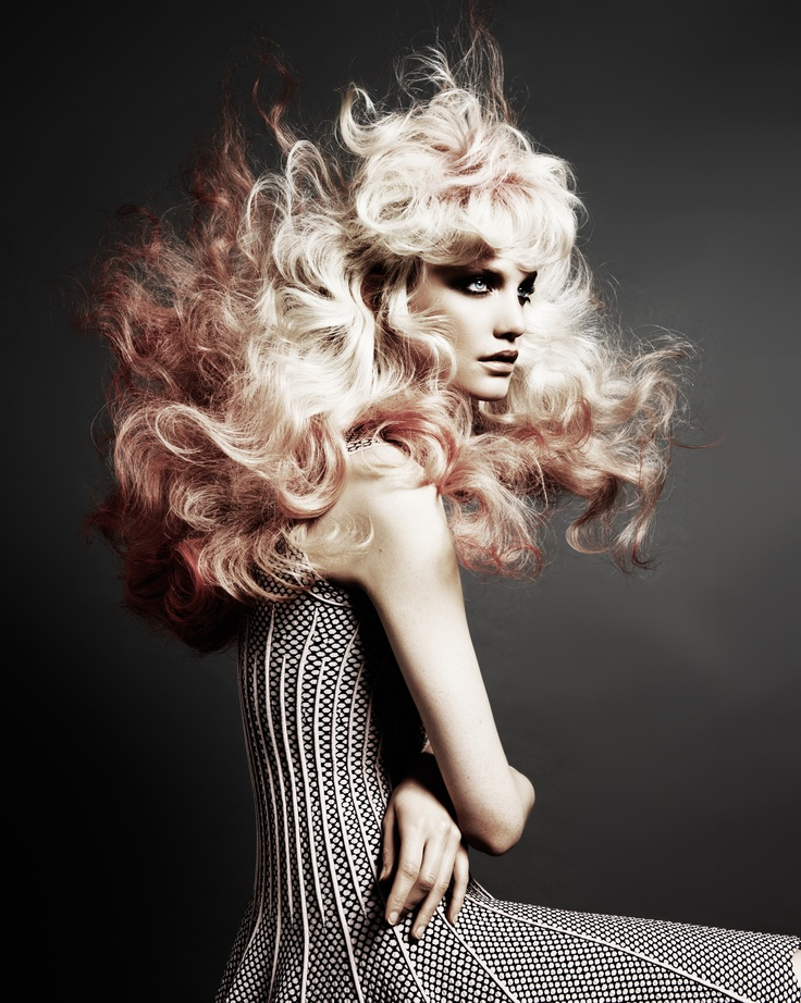 Big big hair! Hester Wernert-Rijn.