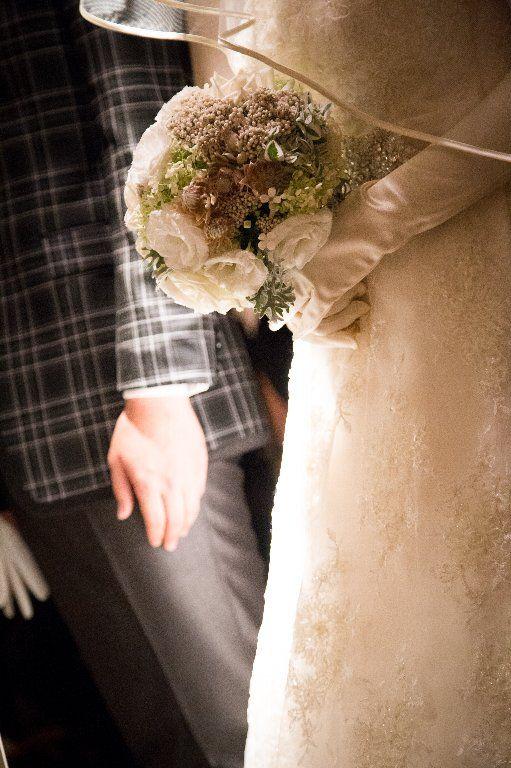#チャペルセレモニー#ブーケ#ライト#wedding #ceremony#bouquet