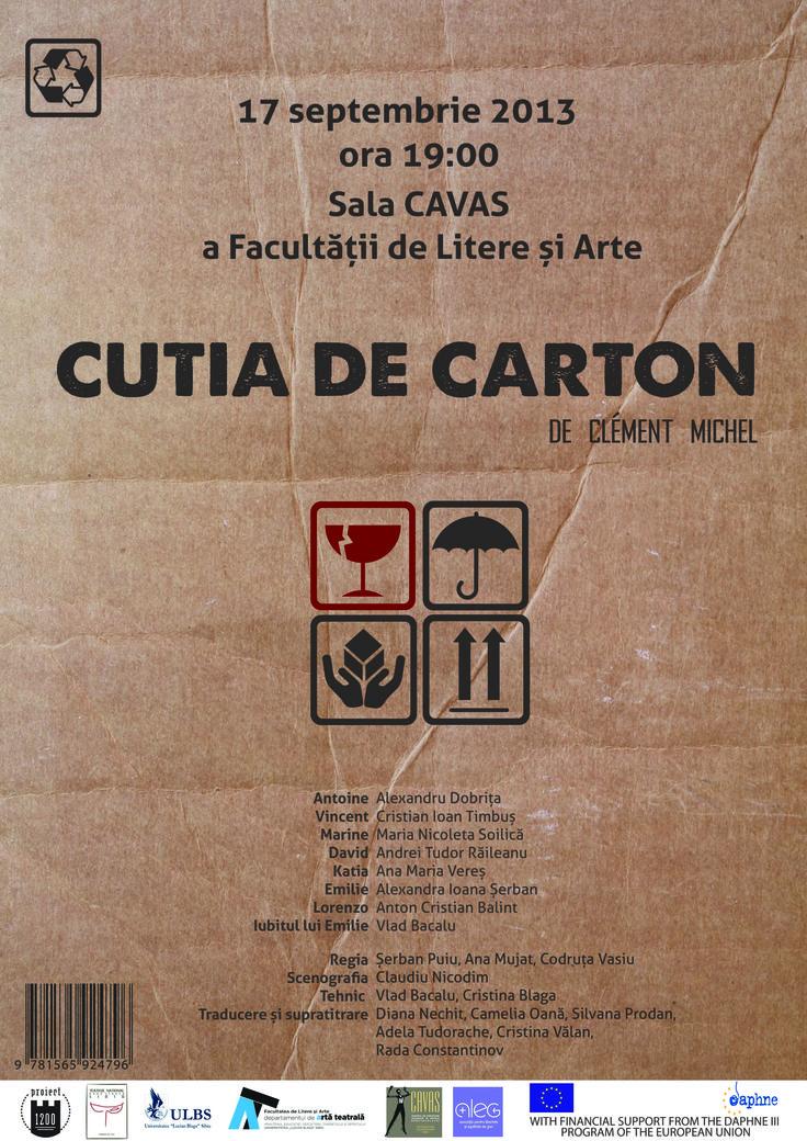 CUTIA DE CARTON / COMEDY THEATRE