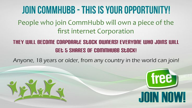 Click Here To Join Now: http://www.commhubb.com/affiliate.php?ref=29805