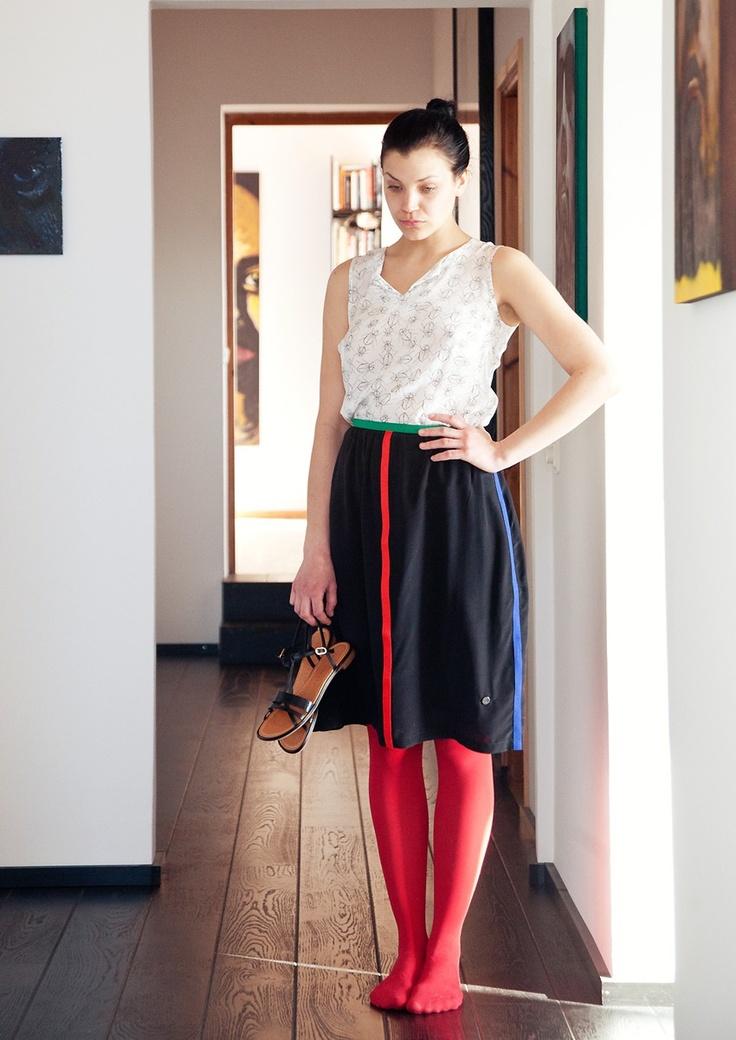 Silk Skirt by Spijkers en Spijkers
