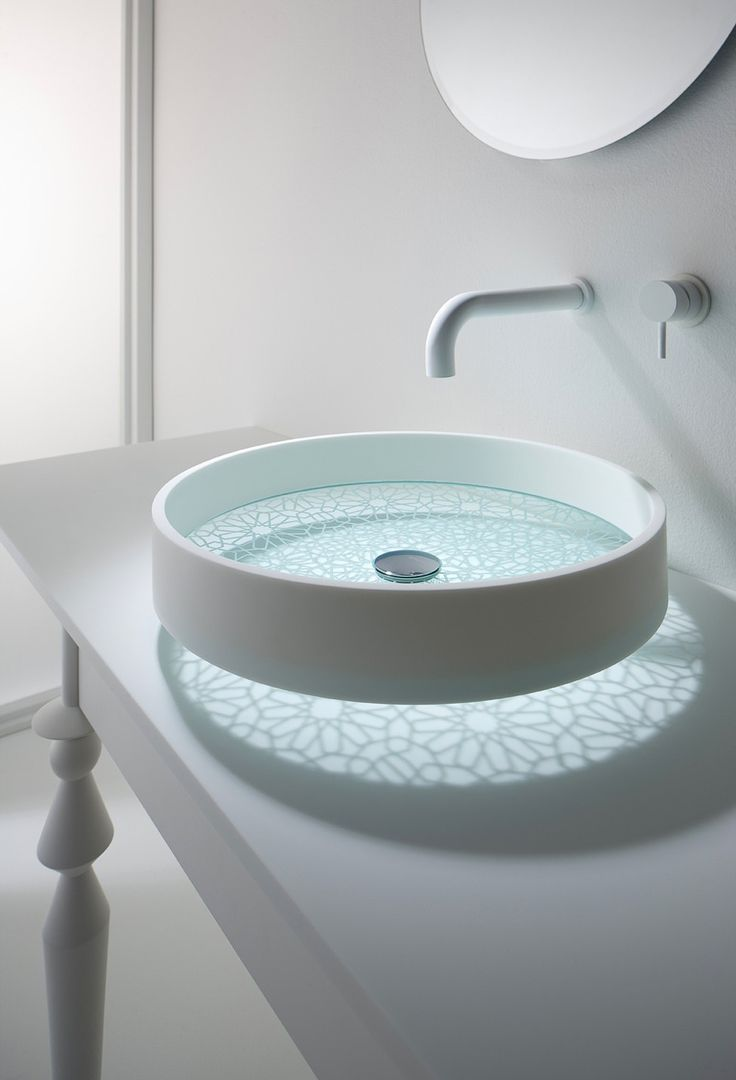 Countertop basins 4 new basin designs from victoria amp albert 2009 - Modern And Creative Sink Designs