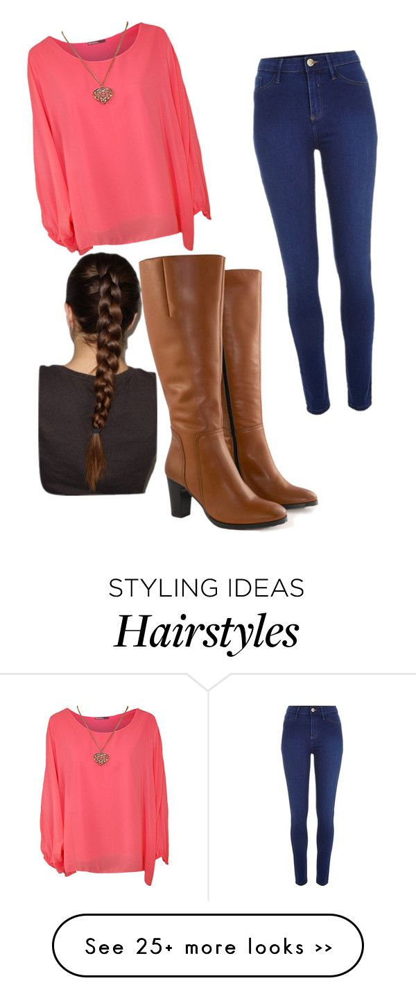 """going out"" by camocutie47 on Polyvore featuring WearAll, Jilsen Quality Boots and River Island"