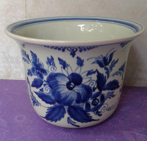 PZH Delft Blauw aardewerk 2810/14 H Delfts Blauw