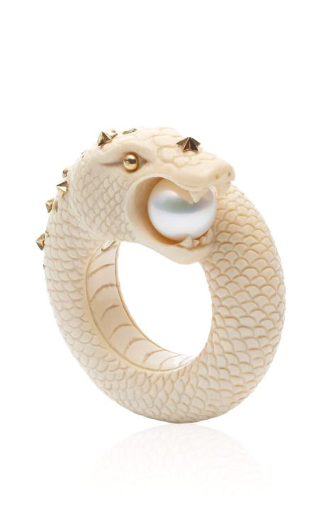 Sea Snake Ring by Bibi van der Velden Spring-Summer 2014 (=)