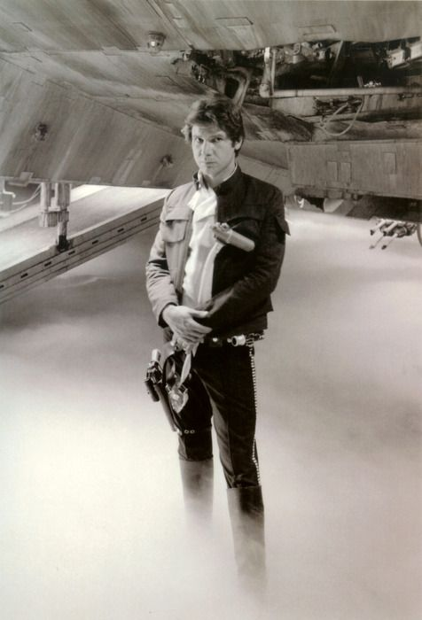 Harrison Ford on the set of ESB, Summer 1979