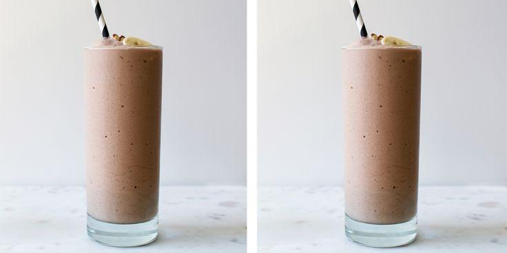 Smullen van een gezonde chocolade-milkshake Koken, Recepten - Margriet