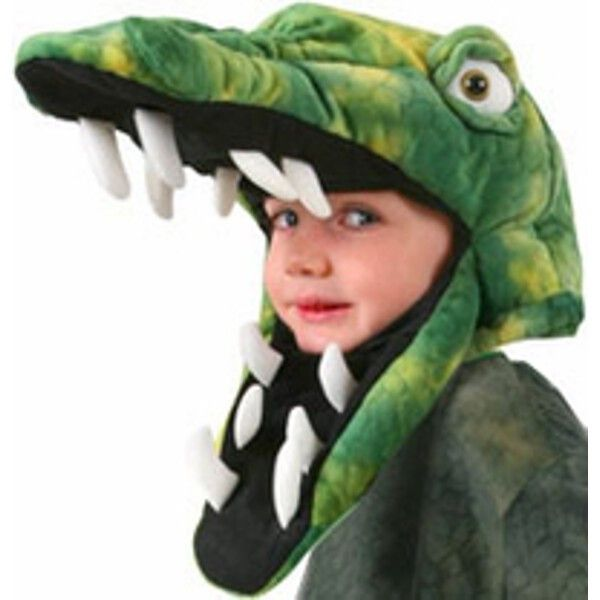 Our Child's Crocodile Hat is the perfect reptile costume hat and it is great for sporting events. - Crocodile pattern fabric hat - Adjustable wire jaw - Size: Child Standard - SKU: CA-015027