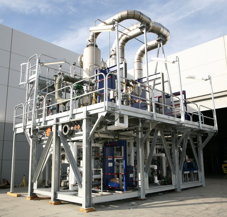 Caustic Evaporator Skid for Alfa Laval and Moly Corp