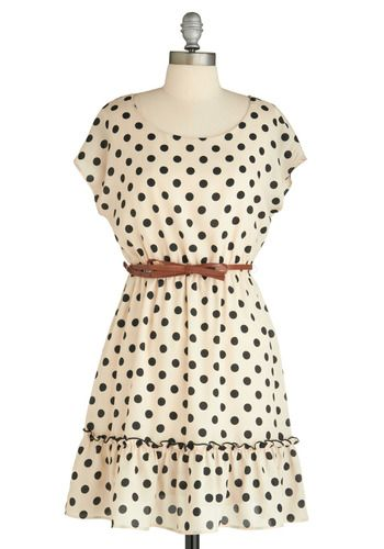 @Kay Pflueger: dotty dress / modcloth  A little short but very cute!: Fashion, Polka Dots Dresses, Style, Clothing, Polkadot, Cute Dresses, Polka Dot Dresses, Haute Dotty, Dotty Dresses
