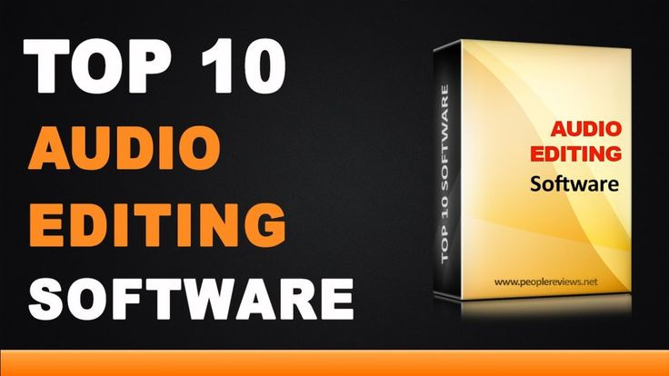 Top 10 Best Audio Editing Software For Windows And MAC PC 2017