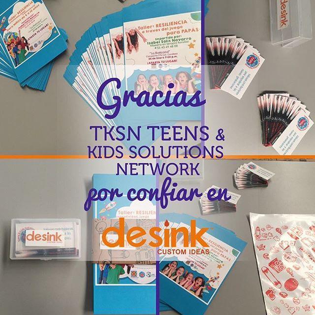 """""""TKSN Teens & Kids Solutions Network confió en Desink para la impresión de sus gráficas.  Y tú, ¿ que estás esperando ? #ColoreaTusMomentos #InspírateConDesink #ImaginaConDesink #CreandoMomentosÚnicos #CréaloConDesink #desink #design #marketing #marketingdigital #btl #publicidad #promociones #diseño #today #tazaspersonalizadas #artículospromocionales #articulospersonalizados"""" by @desinkmx. #startupgrind #successmindset #businesslife #inspiringquotes #successquote #entrepreneurquotes #ceo…"""