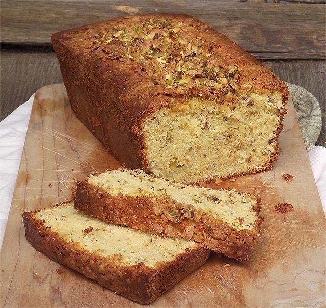 Pistachio Pound Cake from Bon Appetit Magazine, April 2012: Taking on ...