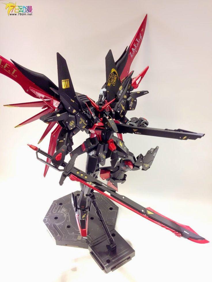 GUNDAM GUY: 1/100 Evil Ride Destiny Gundam - Customized Build