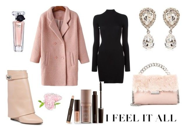 """""""Pink winter"""" by elena-anders on Polyvore featuring STELLA McCARTNEY, Givenchy, adidas Originals, Dolce&Gabbana, Lancôme and Laura Mercier"""