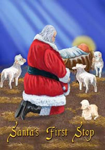 1000 Images About Kneeling Santa And Baby Jesus On