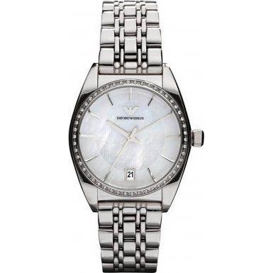 Emporio Armani Women's Quartz Watch AR0379 AR0379 with Metal Strap  Price Β£250