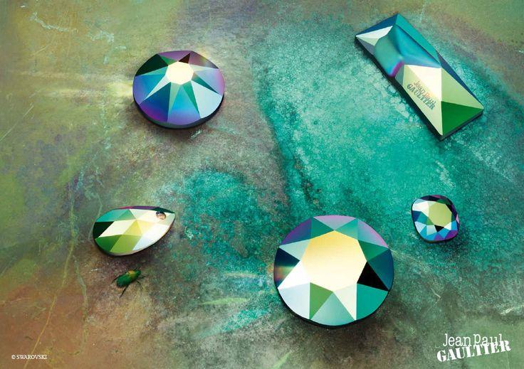 Swarovski's New Crystal Scarabaeus Green http://www.harmanbeads.com/swarovski-fall-winter-2016-2017#newcolors