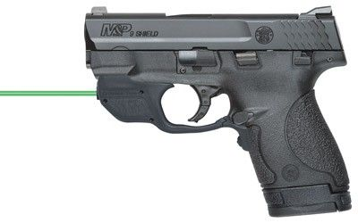 Smith & Wesson 10141 M&P Shield Pistol 9mm 3.1in 8rd Black Crimson Trace Laser for sale at Tombstone Tactical.