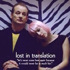Resultado de imagen para lost in translation