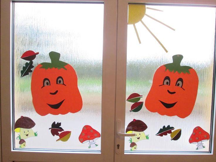 Tekvičky na okno