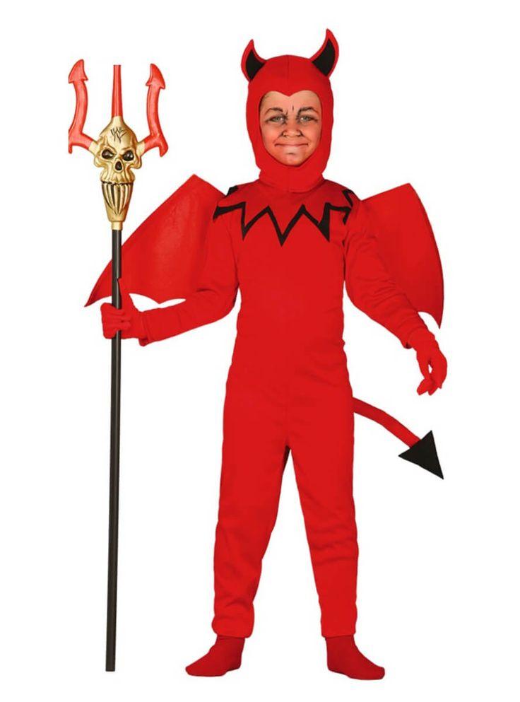 disfraz de diablo clsico infantil