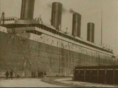 Only known video of the Titanic - right before maiden voyage, in Belfast.