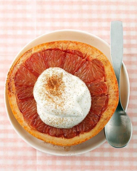 Broiled Grapefruit RecipeDesserts Ideas, Brown Sugar, Grapefruit Recipe, Healthy Breakfast, Broil Grapefruit, Martha Stewart, Fruit Desserts, Breakfast Recipe, Healthy Start