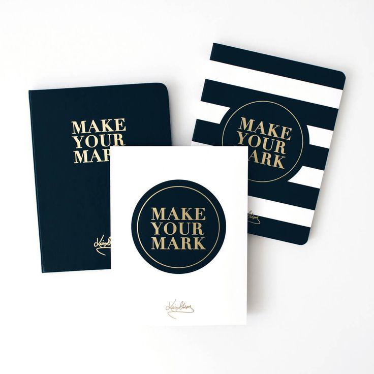 Make Your Mark Notebook, Planner Pad & Self-Coaching Journal Set - Leaders in Heels Store