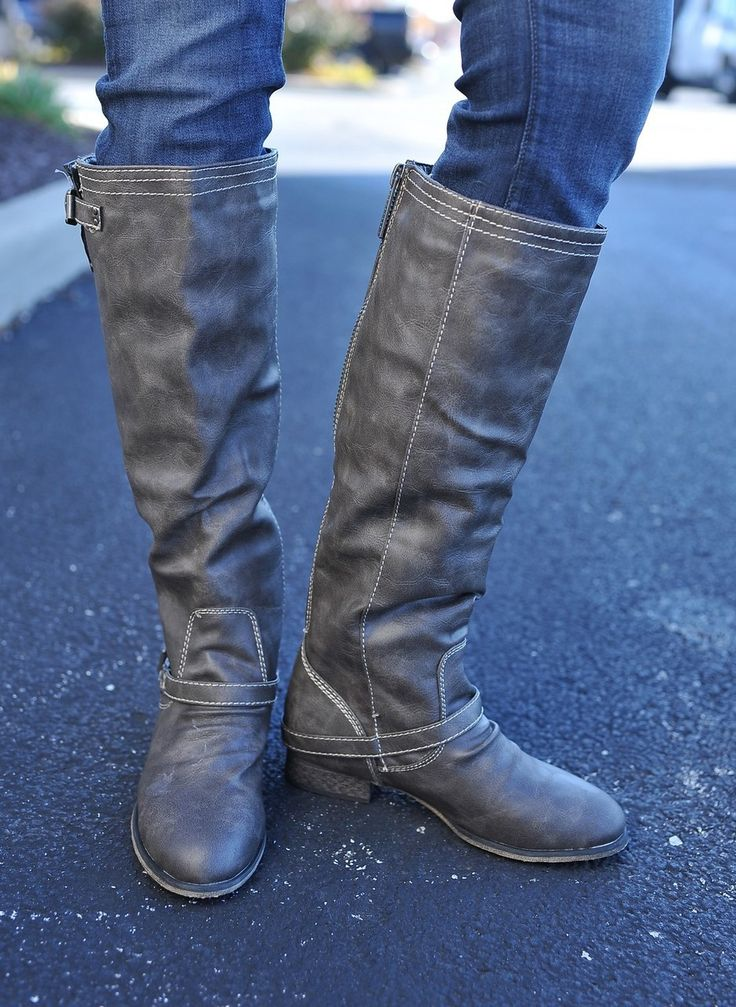 Dottie Couture Boutique - Outlaw Boot- Grey, $54.00 (http://www.dottiecouture.com/outlaw-boot-grey/)