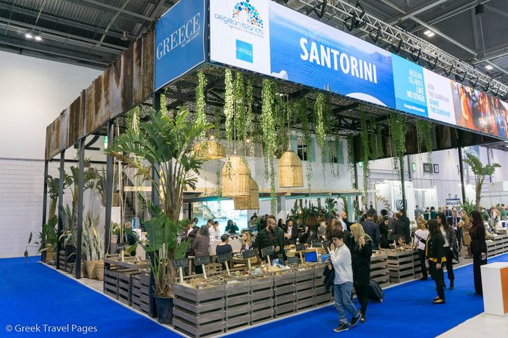 Greece's Aegean Islands Stand Out at WTM 2016.