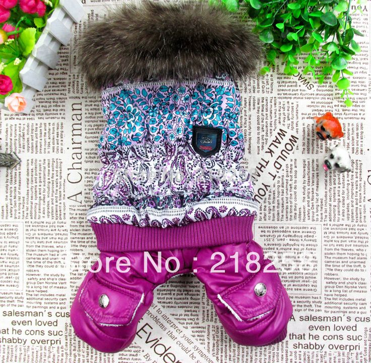 Retail  New Coming Purple Luxury Pet Dogs Winter Coat  Free Shipping By china post  new clothing for dog | Price: US $8.66 | http://www.bestali.com/goto/1520470167/10