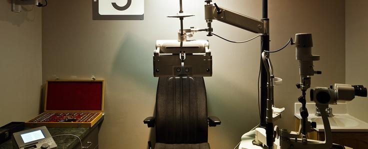 Glazier Opticians eye exams on site