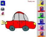 Coloriages en ligne de voitures pour les tout-petits