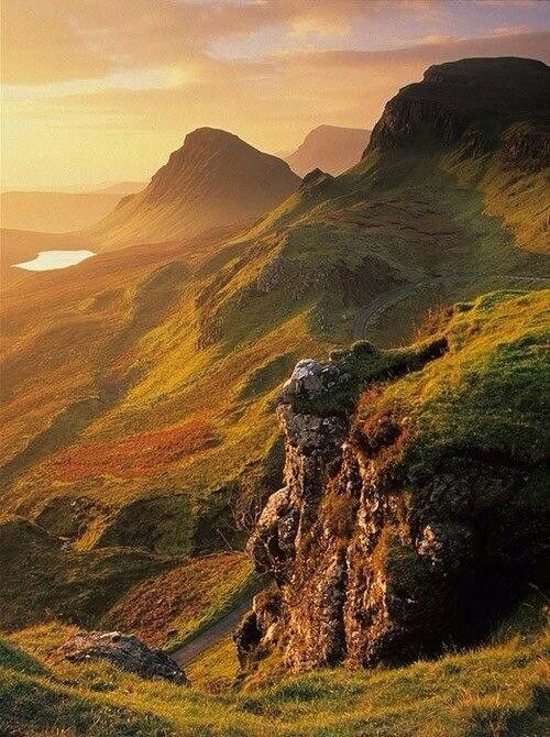 Scotland - Guess there's a reason I like living on a hillside...it's in my Scottish blood.  :)