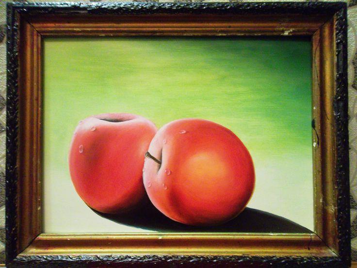 Натюрморт, яблоки