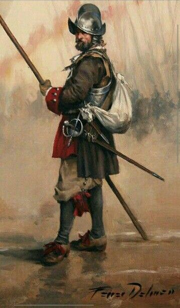 Spanish Tercio. The Tercios was an Army of courageous Spanish men who followed the Conquistadores to the new world.