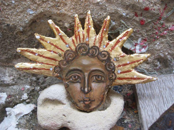 Contemporary art roman sol invictus helios
