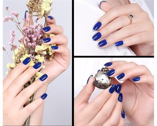12ml Sweet Color Nail Polish Royal Blue Eco-friendly Manicure Nail Art Varnish Polish|e092e525-92cc-418e-89e4-fb12c853bb1f|Nail Polish