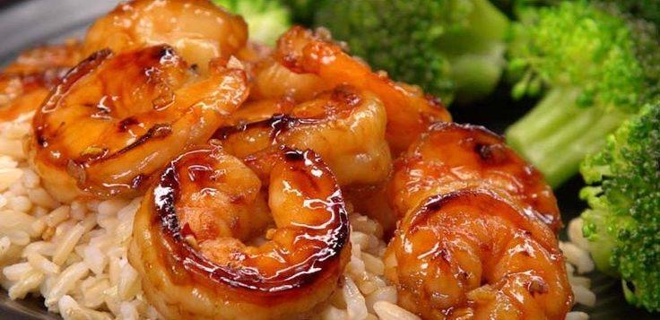 10-Minute Honey Garlic Shrimp Recipe  Saving for the sauce recipe