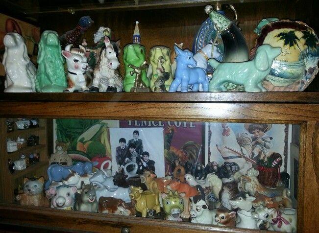 Bottom Shelf Vintage Animal Creamers