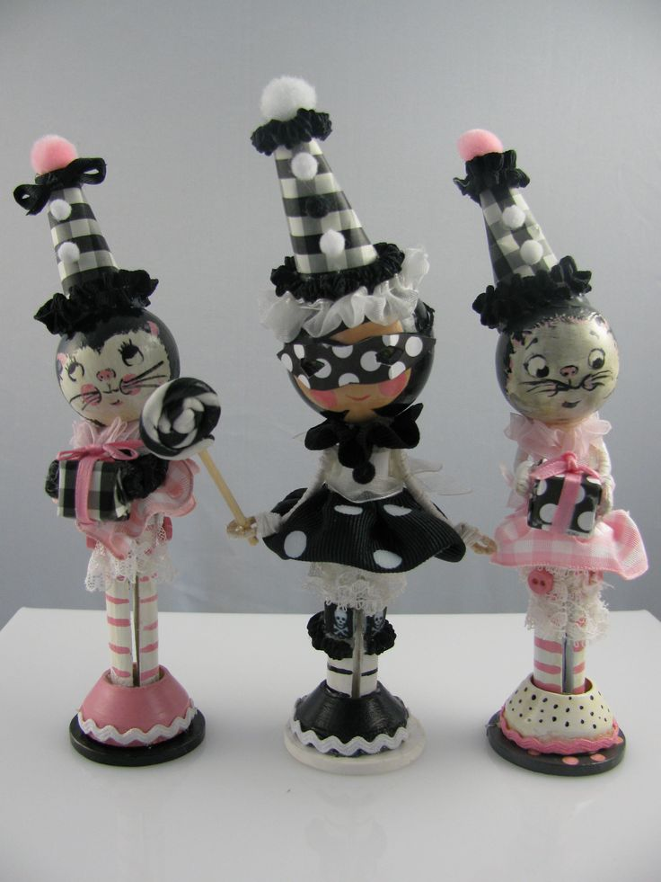 270 Best Bead Head Doll Ornament Images On Pinterest