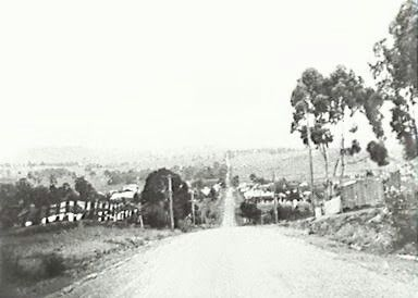 Broughton St,Campbelltown,south western suburb of Sydney in yesteryears.A♥W