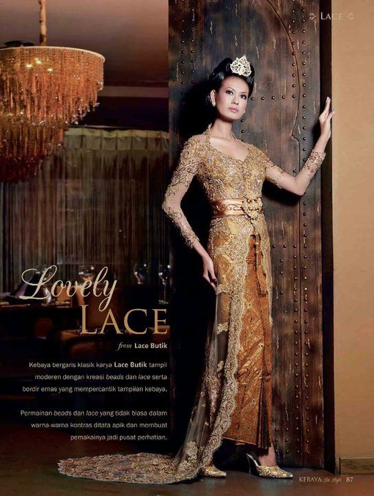 kebaya By: LACE BUTIK