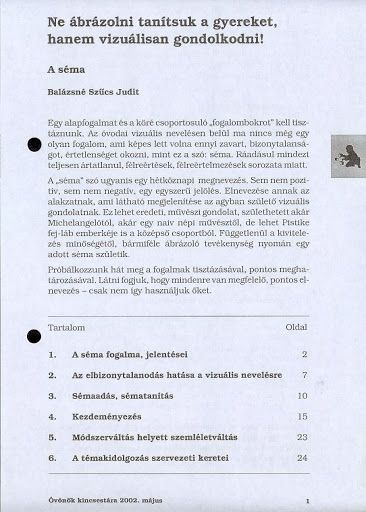 C4-5 - Ne ábrázolni tanítsuk a gyereket, hanem vizuálisan gondolkodni - Angela Lakatos - Picasa Webalbumok