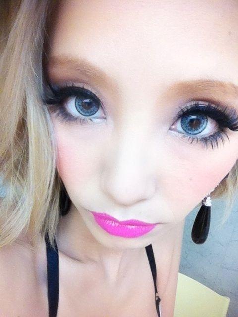 GEO Nudy Blue   Circles, Ulzzang and Winged eyeliner