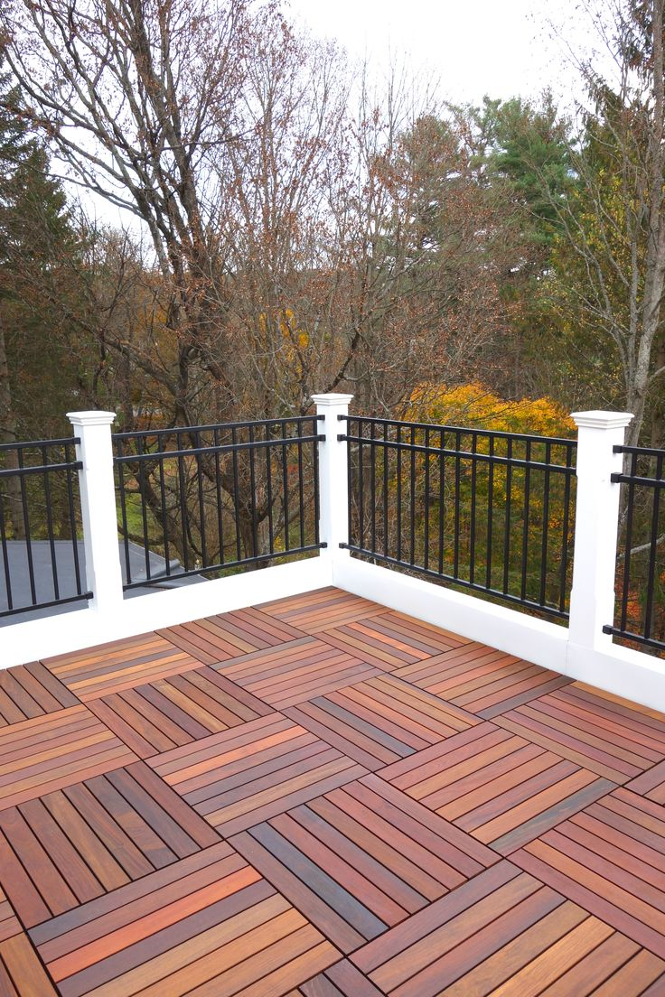 pattern would allow for removable panels for access to deck surface