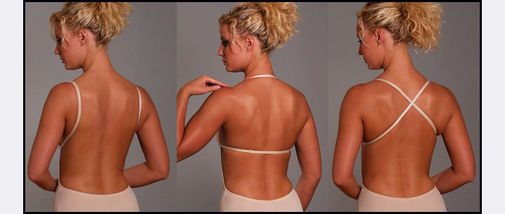 The amazing beige Backless Body Shaper worn multiple ways, perfect for various beautiful backless wedding designs. Any enquiries or for further information view our website www.backlessbra.com.au