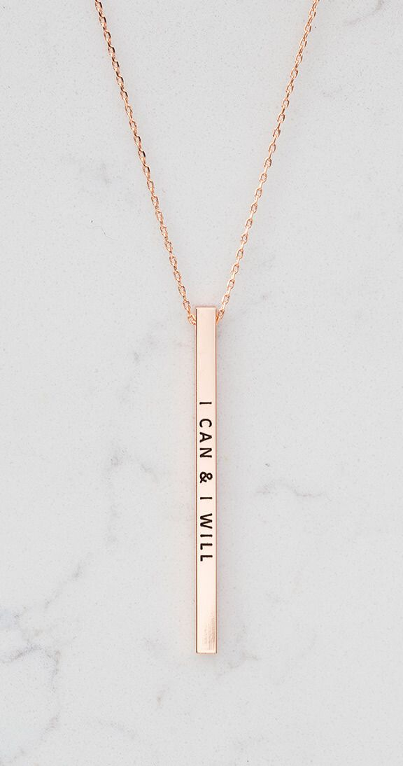 Silver Icing I Can I Will Necklace #silvericing #accessories #accessorize #quotenecklace #necklace #ootd #gethelook #fallfashion #fallfashion2017 #ican #youcandoit #inspirational #inspirationalnecklaces #inspo #rosegoldnecklace