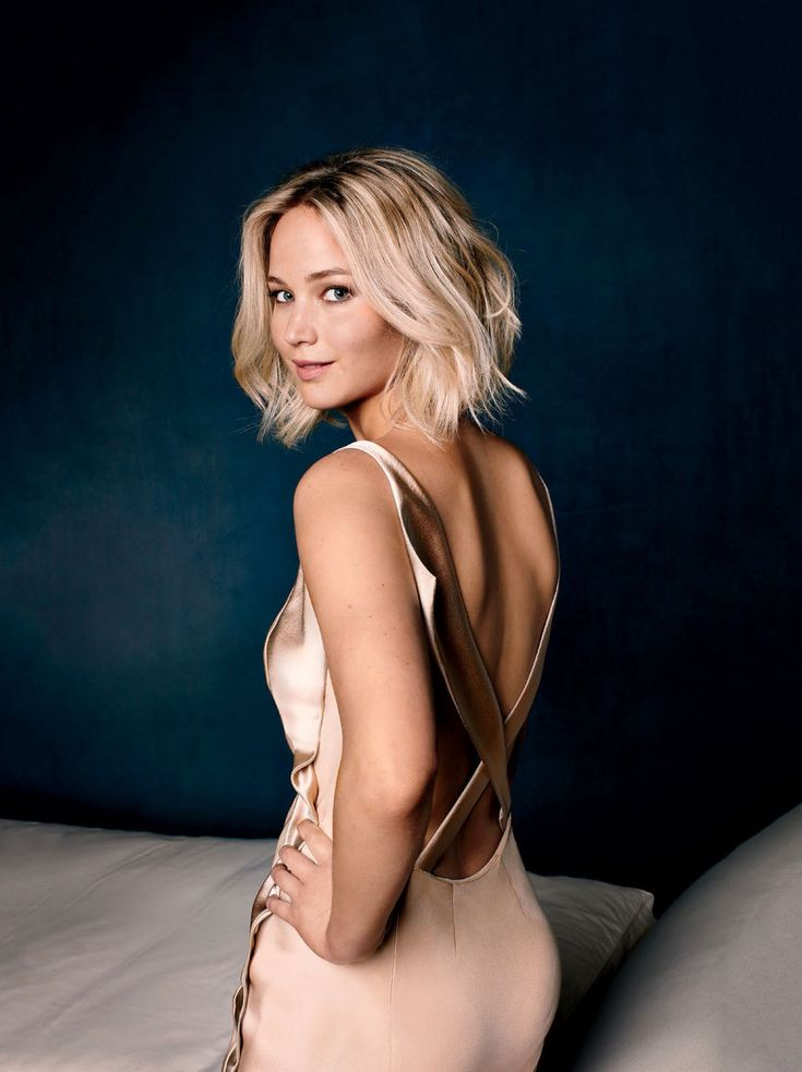 Jennifer Lawrence, by Robert Trachtenberg for Entertainment Weekly, 2015.